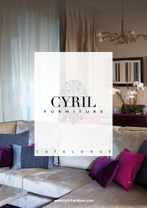 catalogue Cyril Furnitures